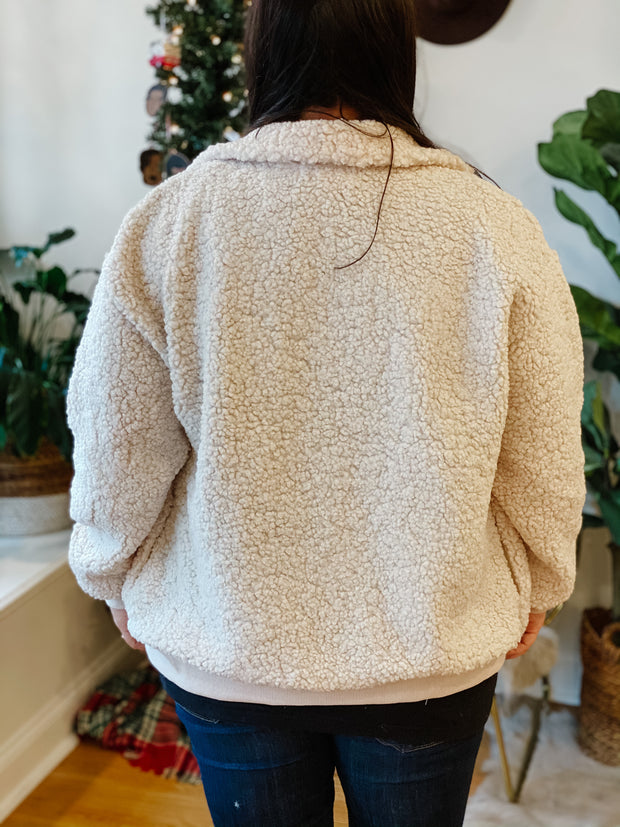 Troy Shearling Teddy Jacket