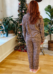 Dream State Leopard PJ Set