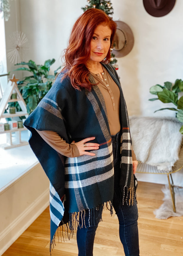 The Plaid Cape