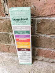 4 Pack Shower Bomb Box - Assorted