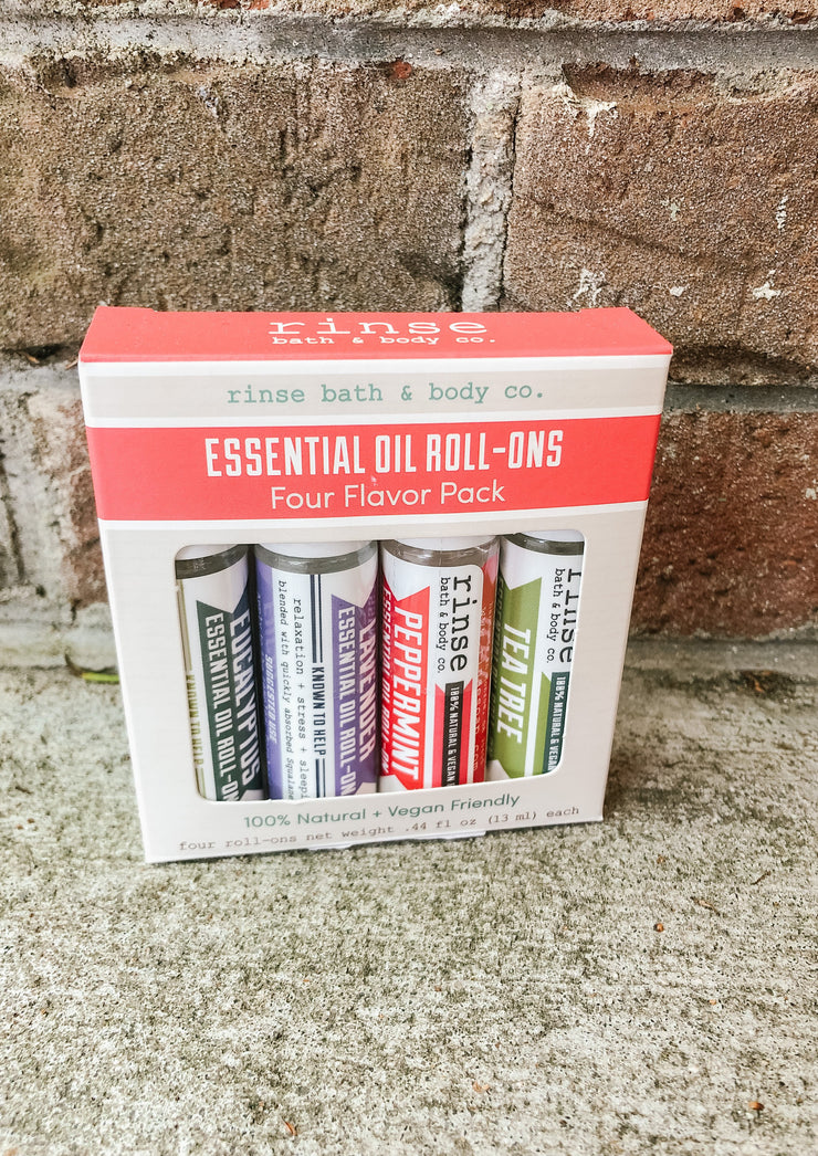 Roll-On Essential Oil 4 Pack