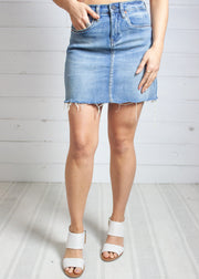The Mad Max Denim Skirt