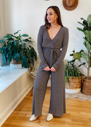 The Riley Striped Jumpsuit