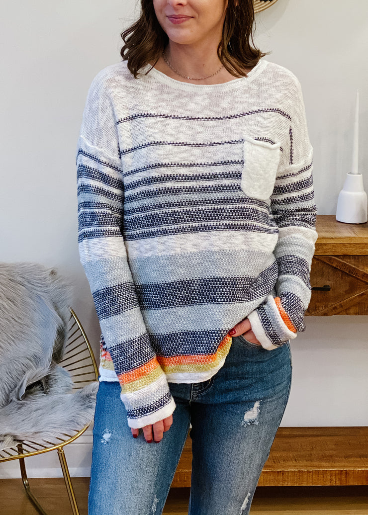 The Noah Striped Sweater