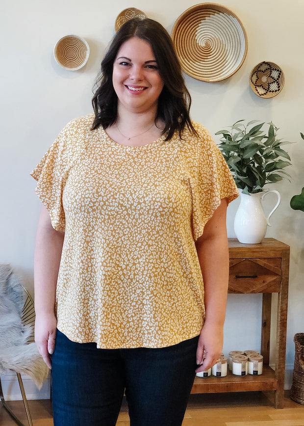 The Kaylee Leopard Top