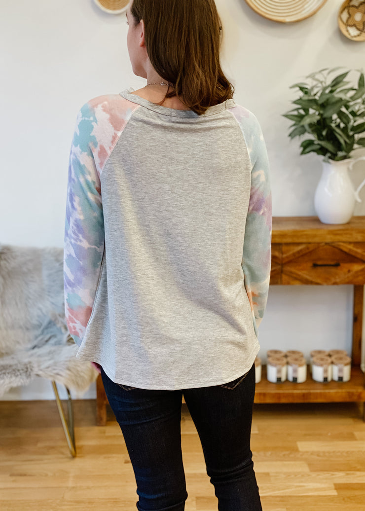 The Emery Tie Dye Top