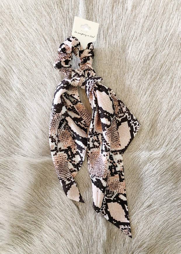 3 in 1 Python Printed Hair accessory