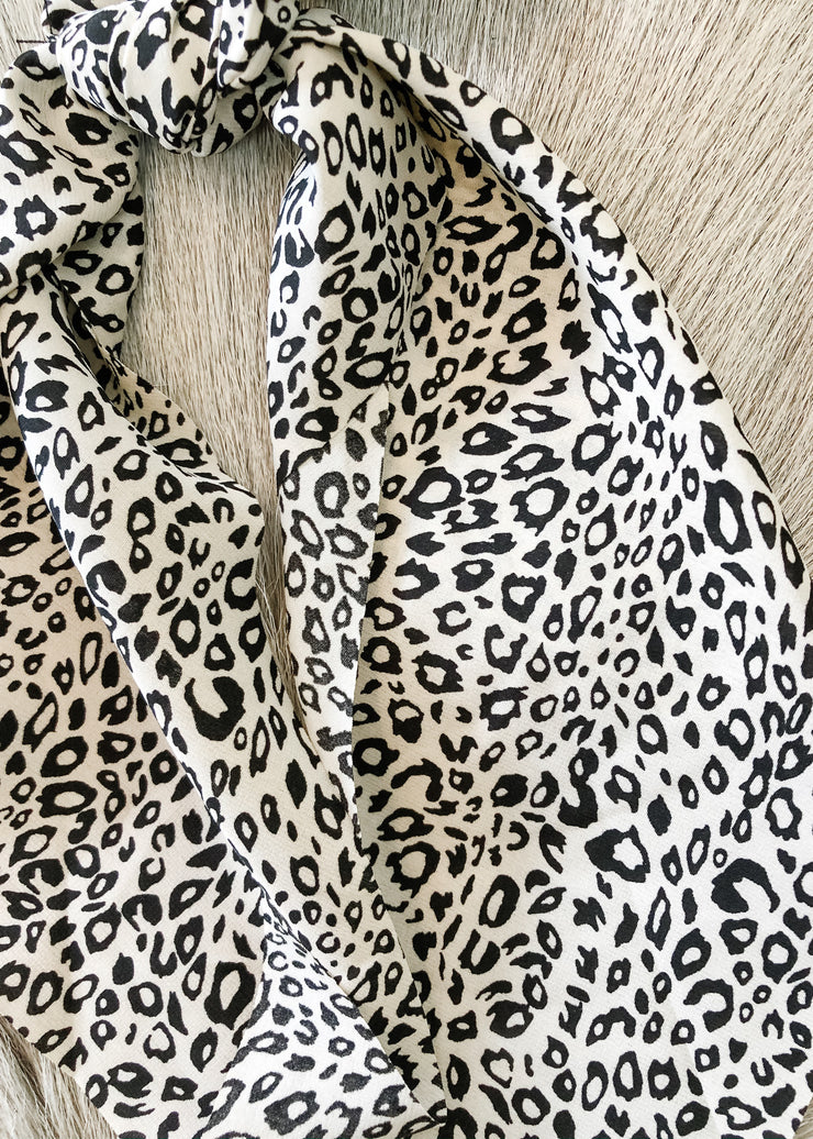 3 in 1 Printed Leopard Hair Accessory