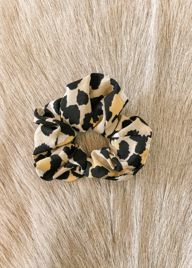 Leopard Print Hair Scrunchie
