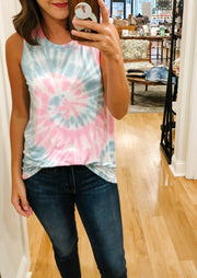 The Ziggy Tie Dye Tank