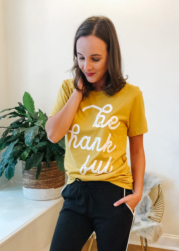 The Be Thankful Graphic Tee