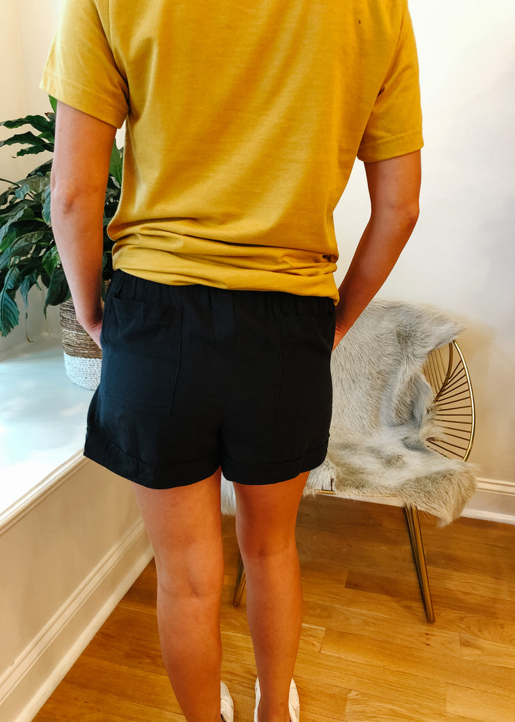 The Perfect Everyday Shorts (black)