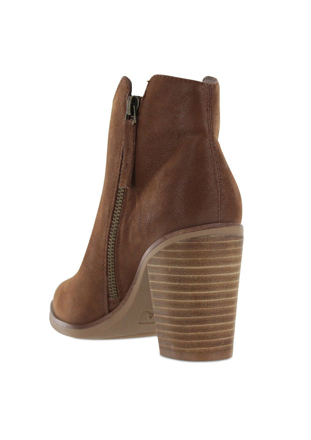 The Patton Bootie (cognac)