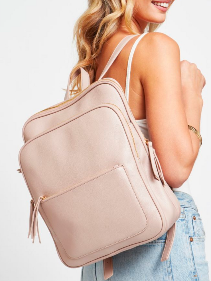 The Carly Backpack (Natural)