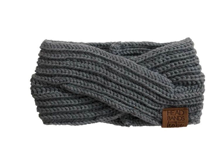 Criss Cross Knitted Turban