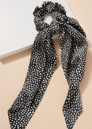 Brushed Print Scarf Pony