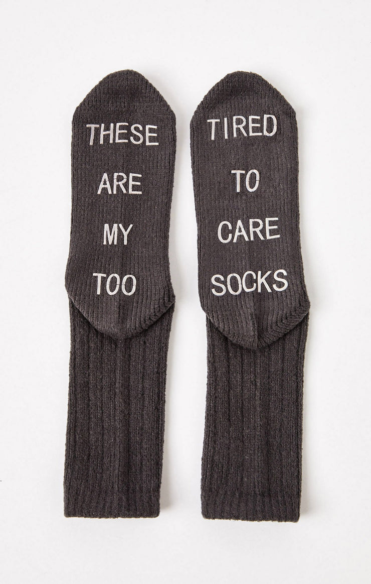 The Too Tired Socks