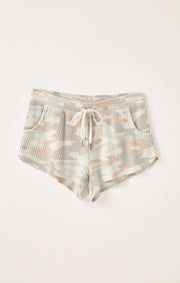 The Nikki Camo Short (camo sage)