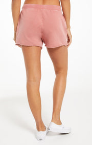 The Marina Washed Short (dusty rose)