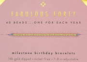Birthday Celebration Bracelets