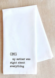 White Tea Towel