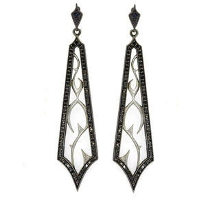 Black Diamond Fortitude Earrings