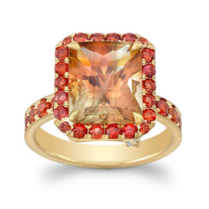 Sunstone Cocktail Ring