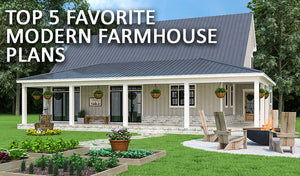 Top 5 Favorite Modern Farmhouses