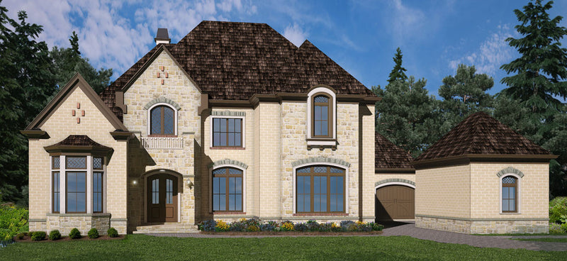 European and French House Plans