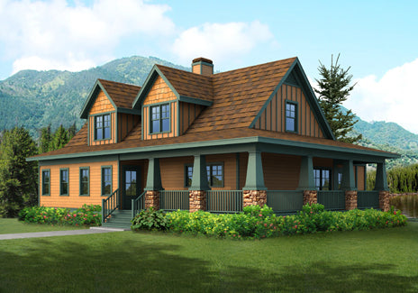 Pearson | Southern Floor Plans | Craftsman Floor Plans