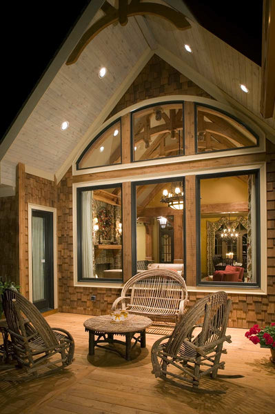 Big Canoe House Plan | Rustic Floor Plans | Cottage Floor Plans