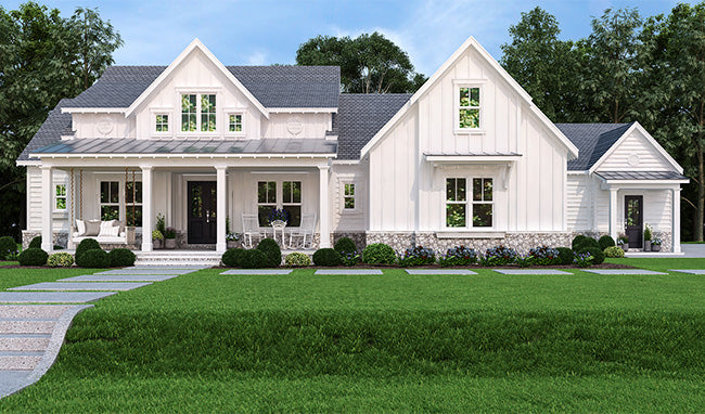 Pinecone Trail House Plan - Modern Farmhouse - In-Law Suite