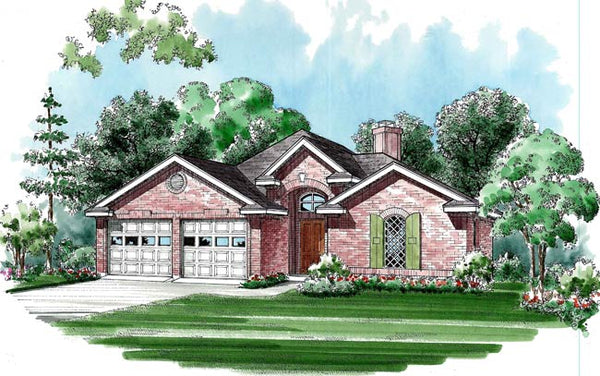 Cedar Crest House Plan - Archival Designs Luxury Home Plans