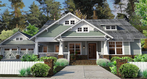 Durham Drive House Plan | Craftsman House Plan | Cottage Floor Plan