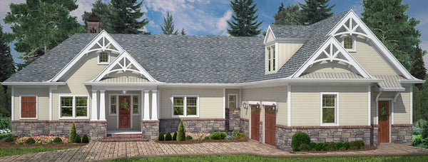 Tilly | In-Law Suite | Multigenerational House Plan