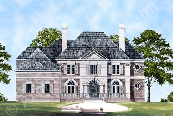 The Latrobe House Plan: 4,364sq. ft. with 4 bedrooms and 4 bathrooms