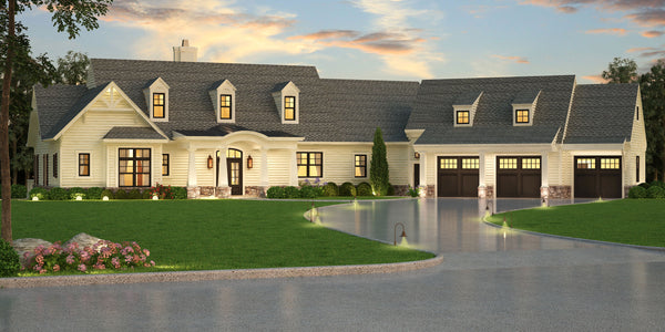 Empty nester house plans | Ranch House Plan | Archival Designs