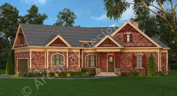 The Presente - 2,344 sq. ft. with 3 bedrooms and 2 1/2 bathrooms