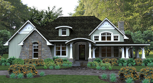 cottage floor plan | craftsman house plan | luxury floor plans