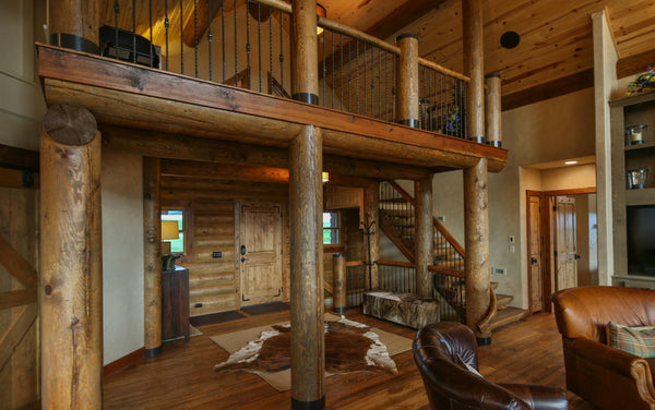 Sunset Lodge | Archival Designs | Rustic Floor Plan
