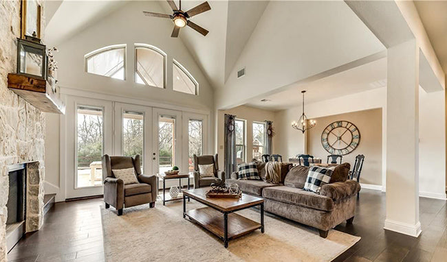 Tres Le Fleur | Craftsman House Plan | Vaulted Ceiling