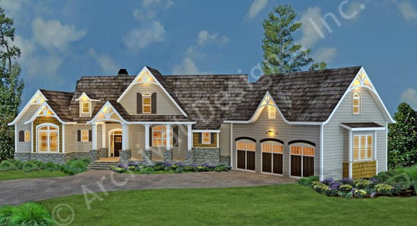 Tres Le Fleur- 2,499 sq. ft. with 3 bedrooms and 3 1/2 bathrooms.
