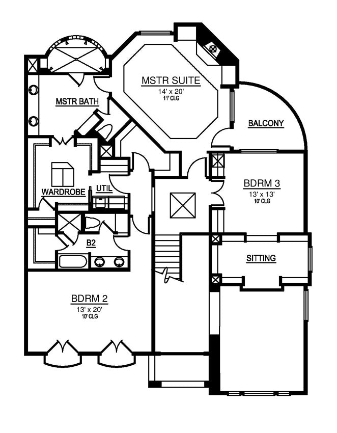 Abbey Woods House Plan Contemporary House Plan Narrow House Plan Archival Designs