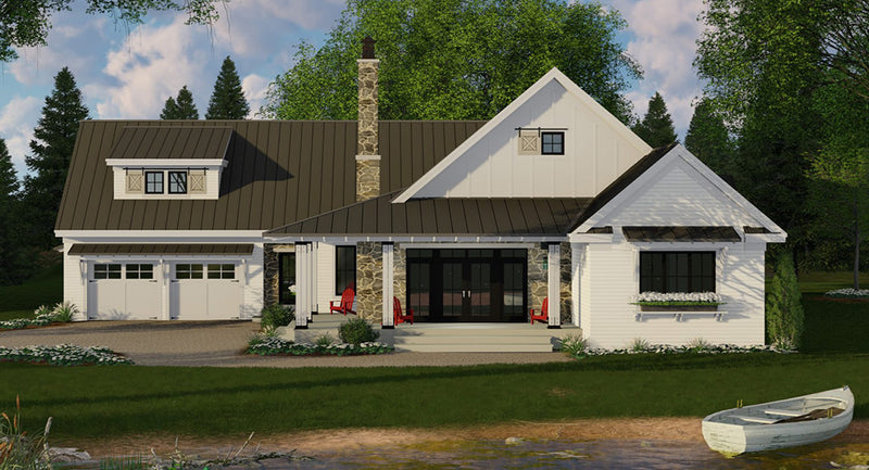 Acorn Farm House Plan