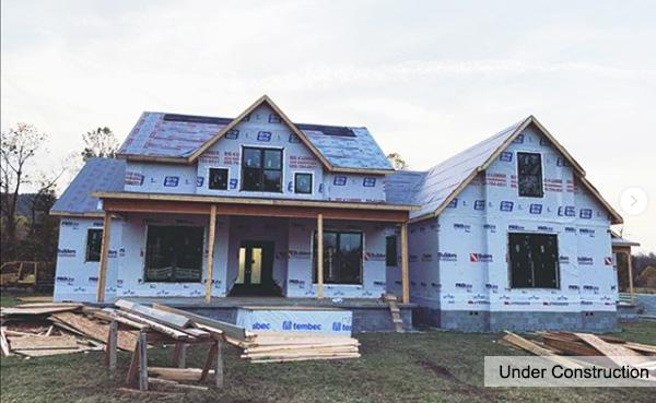 Under Construction | Acorn Trail Farmhouse Plan