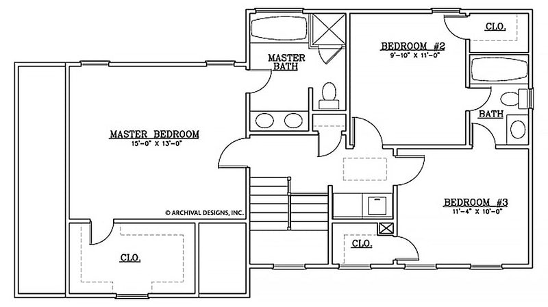 Amber Wheat second floor, floor plan