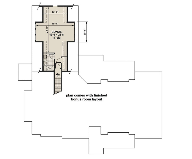 Ariana Marie, second floor plan