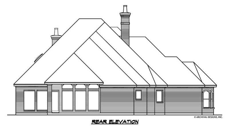 Aronimink House Plan
