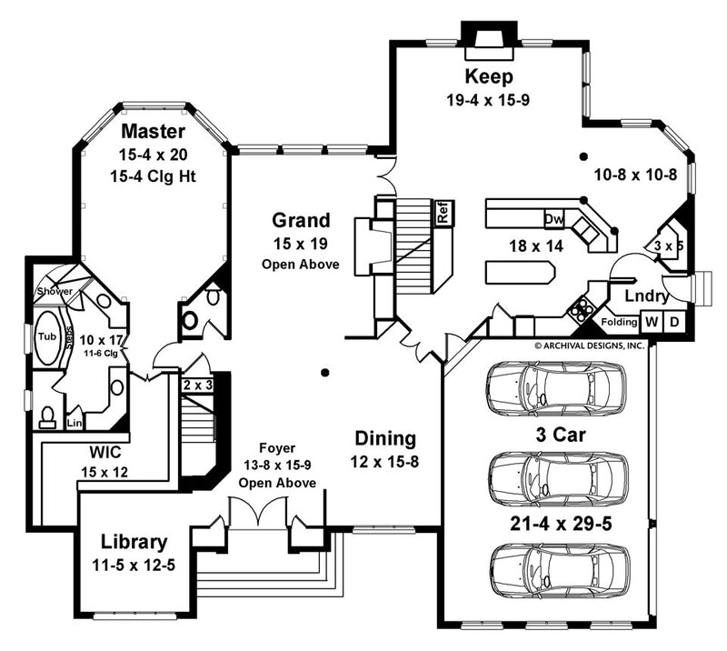 Aslet Place first floor, floor plan