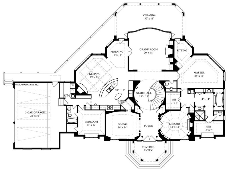 Avanleigh Estate first floor, floor plan